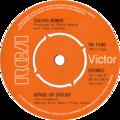 Sense of Doubt by David Bowie UK vinyl single.png