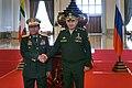 Sergey Shoigu and Min Aung Hlaing (20-01-2018).jpg