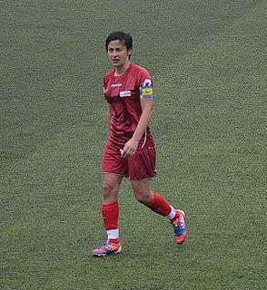 Sevinç Çorlu Turkish female footballer