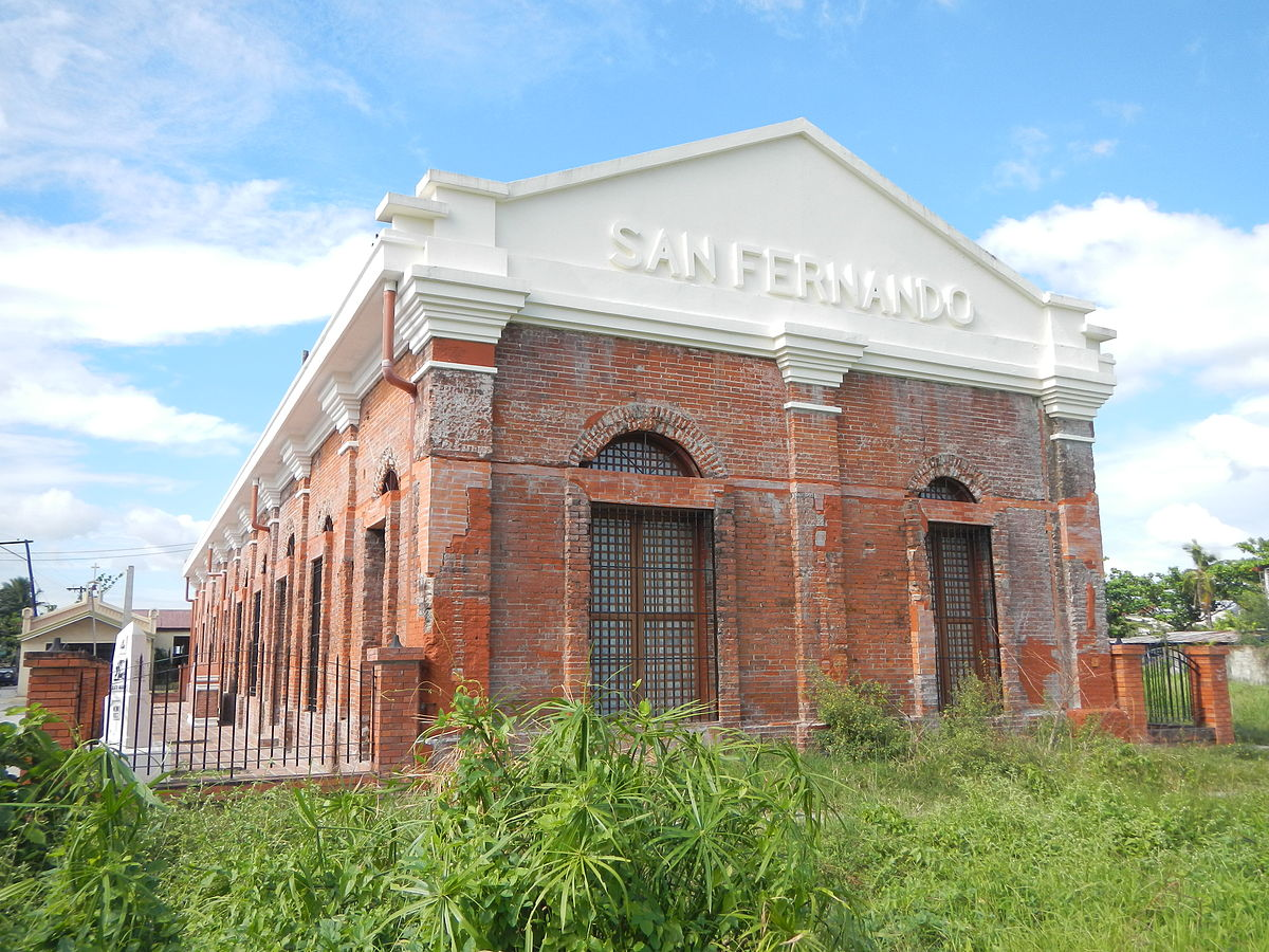 Estasyong daangbakal ng San Fernando (Pampanga