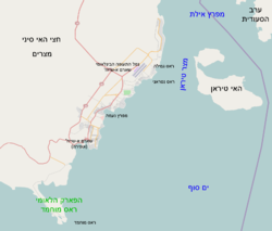 Sharm el Sheikh map OSM.png