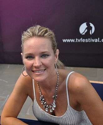Sharon Case - Case at the 2013 Monte-Carlo Television Festival