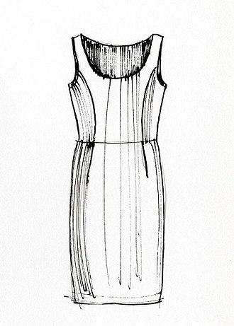 Sheath dress - Sheath dress