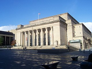 Sheffield City Hall concert hall and multi-purpose events venue in Sheffield, England