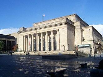 Sheffield City Hall - Image: Sheffield City Hall geograph.org.uk 1221287