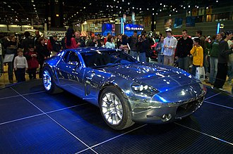 Ford Shelby GR-1 - The Ford Shelby GR-1 at the 2005 Chicago Auto Show