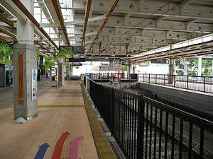 Shinjō Station - Image: Shinjo Station