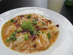 Shrimp and grits at the Green Goddess.jpg