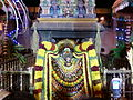 Shrine to Nandhi the Bull God at Kapaleeswarar Temple, Chennai.jpg