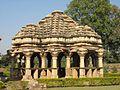 Shringar Chavri,Rang Mandap, Ghateshwar Mahadev, Badoli 10th Century.jpg