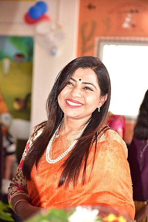 Shweta Shalini, Politician.jpg