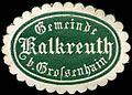 Siegelmarke Gemeinde Kalkreuth bei Großenhain W0308054.jpg