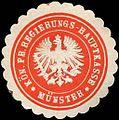 Siegelmarke Königlich Preussische Regierungs - Hauptkasse - Münster W0220659.jpg