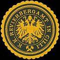 Siegelmarke K.K. Revierbergamt in Cilli W0320912.jpg