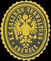 Siegelmarke K.K. Salinen-Verwaltung Ebensee W0320956.jpg