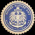 Siegelmarke Reichs - Marine - Amt - Hydrographisches Amt W0221221.jpg