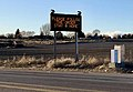 Sign encouraging residents to follow stay-at-home order during COVID-19 pandemic in Idaho (March 25, 2020).jpg