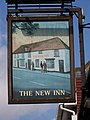 Sign for the New Inn, Amesbury - geograph.org.uk - 864167.jpg