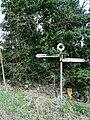 Signpost at Abdon - geograph.org.uk - 148482.jpg