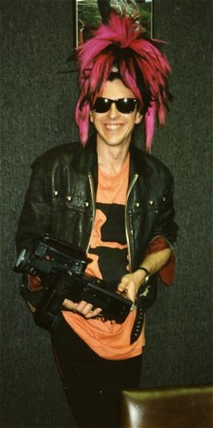 Sigue Sigue Sputnik - Tony James in San Francisco, 1986