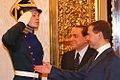 Silvio Berlusconi and Dmitry Medvedev in 2008 (2).jpg