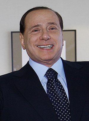 English: Silvio Berlusconi