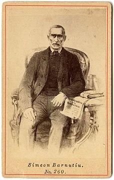 Simion Bărnuțiu Romanian academic