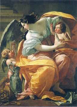 Simon Vouet - La Richess - c. 1633