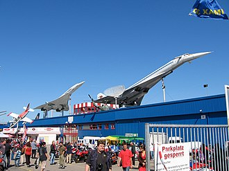 Supersonic transport - The Sinsheim Auto & Technik Museum in Germany is the only location where both Concorde and the Tu-144 are displayed together.