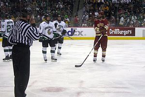 North Dakota Fighting Hawks men's ice hockey - UND vs. Denver in the 2008 WCHA Final Five