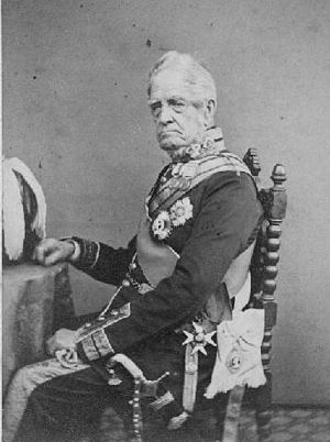 Sir George Pollock, 1st Baronet - Sir George Pollock in his Field Marshal's uniform