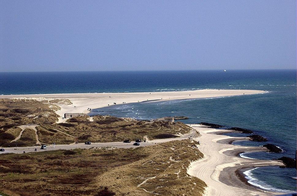 Skagen aka the skaw northmost point of denmark 6th may 2006
