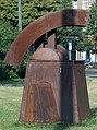 Skulptur Breite Str 37 (Panko) Haus der Wächter Klaus Duschat.jpg