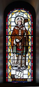 Sligo Cathedral of the Immaculate Conception Ambulatory Window 07 Malachy 2013 09 14.jpg