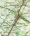 Slochteren op topografische kaart van 1934.jpg