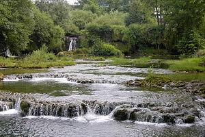 Slunjčica river - The Slunjčica at Rastoke, Slunj