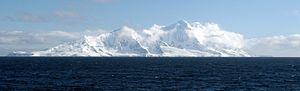 Smith Island (South Shetland Islands) - The southeast side of Smith Island from Osmar Strait