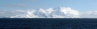 Smith Island (South Shetland Islands) - The southeast side of Smith Island from Osmar Strait