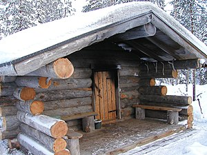 Sauna - A Finnish smoke sauna