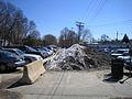 Snow pile minuteman bike path lexington massachusetts 050322.jpg