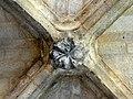 Soissons (02), abbaye Saint-Jean-des-Vignes, cloître gothique, galerie sud, clé de voûte 3.jpg