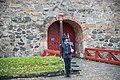 Soldier ta Akershus Fortress (Akershus Festning) (29586002450).jpg
