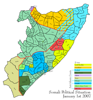 2007 in Somalia - Image: Somali land 2007 01 01