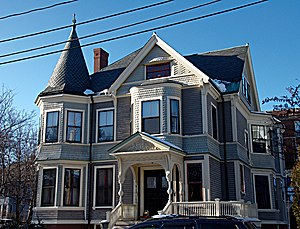 Clifton Bacon House - Image: Somerville MA Clifton Bacon House