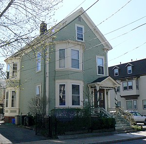 House at 10 Arlington Street - Image: Somerville MA House At 10Arlington Street