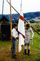 Sommerlager des Pfadfinderstammes Ägypten bei Beucherling, 1987 - Versprechensfeier 4.png