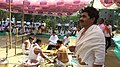 Somvati yag at Veerabhadra Devasthan Vadhav in presence of Balyogi Om Shakti Maharaj. 06.jpg