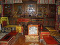 Songzalin Monastery main prayer hall 2nd floor prayer room 1.JPG