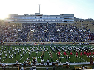 Sonny Lubick Field at Hughes Stadium - Image: Sonny Lubick Field at Hughes Stadium October 28,2006 CS Uv NM