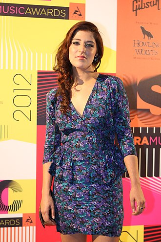 Sophia Brous - Brous at the 2012 APRA Music Awards